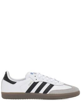"""Кроссовки """"samba Og"""" Adidas Originals 70IXDA001-V0hJVEUvQkxBQ0s1"""