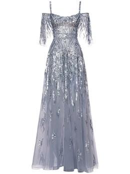 Платье Макси Пайетками Zuhair Murad 72I0HI004-MTY0MDEz0