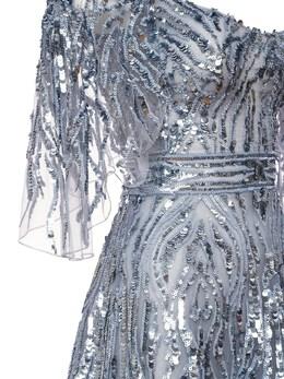 Sequined Maxi Dress Zuhair Murad 72I0HI004-MTY0MDEz0