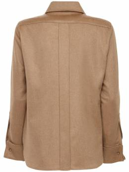 Фланелевая Рубашка Из Верблюжей Шерсти Max Mara 72I50P014-MDAx0