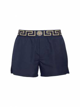 Плавательные Шорты Из Нейлона Versace Underwear 72I0CL013-QTcwVw2