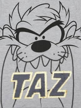 Taz Print Cotton Jersey T-shirt Fabric Flavours 71IWWO028-R1JFWQ2