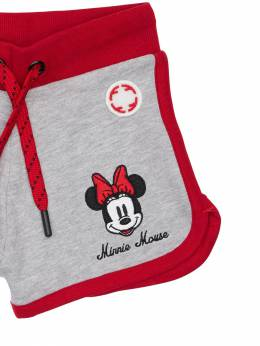 Minnie Mouse Print Cotton Sweat Shorts Fabric Flavours 71IWWO022-R1JFWSBNQVJM0