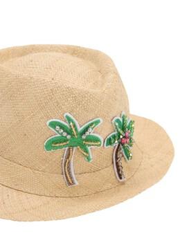 Соломенная Шляпа С Украшениями Selini Action 71IFFV018-TkFUVVJBTA2