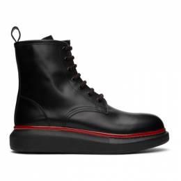 Alexander McQueen Black Hybrid Boots 625192WHX5F