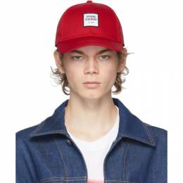 Opening Ceremony Red Embroidered Logo Cap YMLB002F20FAB0012502