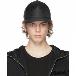 Alexander McQueen Black Skull Cap 6243894401Q