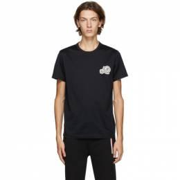 Moncler Black Double Logo T-Shirt F20918C781008390Y
