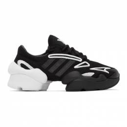 Y-3 Black and White Ren Sneakers FX7255 FTW-4-D1
