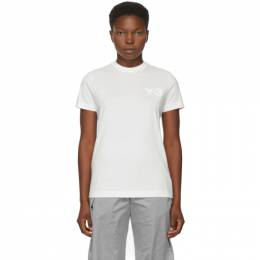 Y-3 White Classic Logo T-Shirt GM3273 AW-2-D1