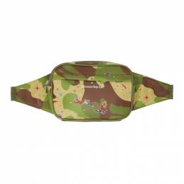 Billionaire Boys Club Green Camo Space Waist Bag B20299