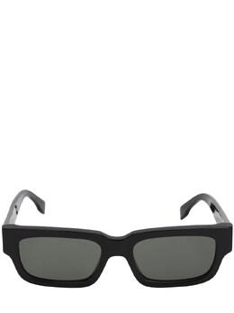 Roma Black Acetate Sunglasses Retrosuperfuture 71IG2O001-V0NI0