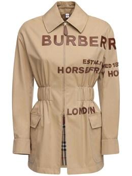 Куртка Из Хлопкового Канвас Burberry 71I5CE102-QTEzNjY1