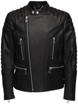 Кожаная Куртка Из Гладкой Кожи Belstaff 70I3GB024-OTAwMDA1