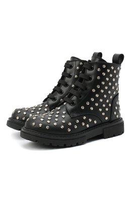 Кожаные ботинки Ermanno Scervino 66524/RUNNER/18-27