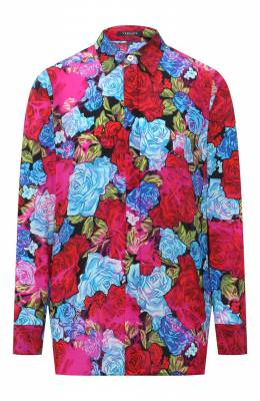Шелковая блузка Versace A82662/A235460