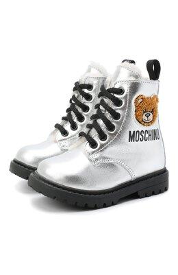 Кожаные ботинки Moschino 65617/LAMINAT0/18-27