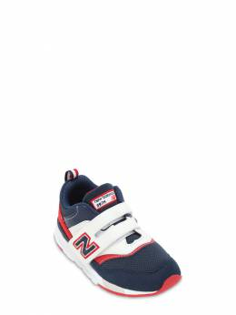 997 Faux Leather & Mesh Strap Sneakers New Balance 72I93C056-TkFWWS9SRUQ1