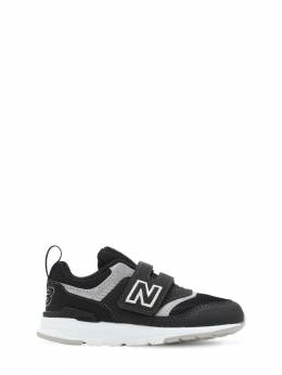 997 Faux Leather Strap Sneakers New Balance 72I93C018-QkxBQ0s1