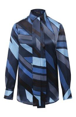 Шелковая блузка Kiton D48407K05T81