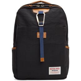 Master-Piece Co Black Link Backpack 02340