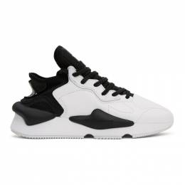 Y-3 Black and White Kaiwa Sneakers FX7280