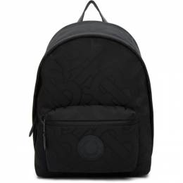 Burberry Black Recycled Monogram Paddy Backpack 8030714