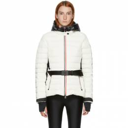 Moncler Grenoble White Down Bruche Puffer Jacket F20981A511405399D
