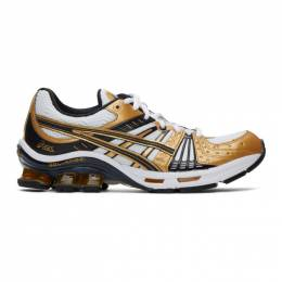 Asics White and Gold Gel-Kensei™ OG Sneakers 1022A111