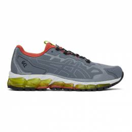 Asics Grey GEL-Quantum 360-6 Sneakers 1021A471