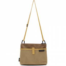 Master-Piece Co Brown and Tan Swish Bag 12944
