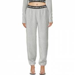 T By Alexander Wang Grey Corduroy Lounge Pants 4CC1204024