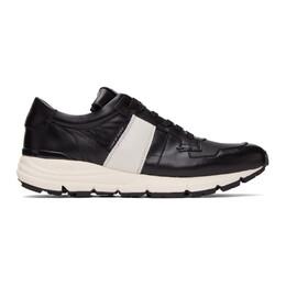 Tiger Of Sweden SSENSE Exclusive Black Saarinen Low Sneakers U67928003