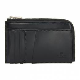 Master-Piece Co Black Notch Coin and Card Case 223055