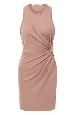 Платье из хлопка и вискозы T By Alexander Wang 4CC2206058