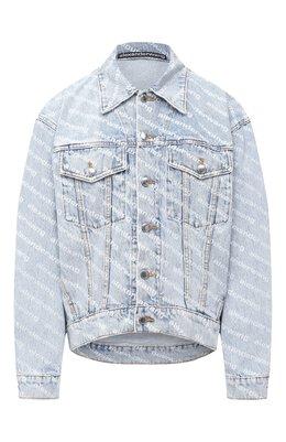 Джинсовая куртка Denim X Alexander Wang 4DC2202756