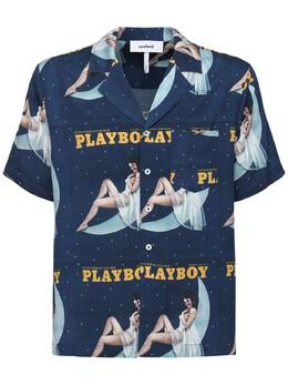 Рубашка Playboy X Soulland Moon 72IR6W013-TkFWWQ2