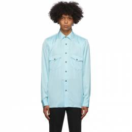 Dries Van Noten Blue Ballroom Shirt 20706-1152-514
