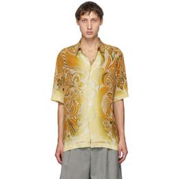 Dries Van Noten Multicolor Six Button Short Sleeve Shirt 20734-1002-706