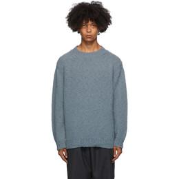 Dries Van Noten Blue Fisherman Sweater 21241-1704-506