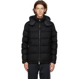 Moncler Black Down Montgenevre Jacket F20911A5370054272