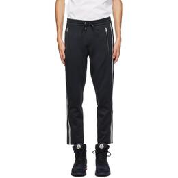 Moncler Black Logo Lounge Pants F20918H70900C8035