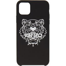 Kenzo Black Tiger iPhone 11 Pro Max Case FA6COKXIMTIO