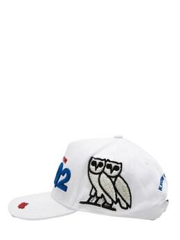 Ovo Capsule Canvas Baseball Hat Dsquared2 72IS3D001-MTA2Mg2