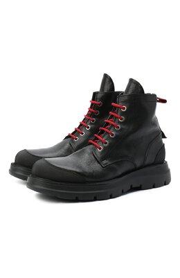 Кожаные ботинки Moma 2BW131-CU