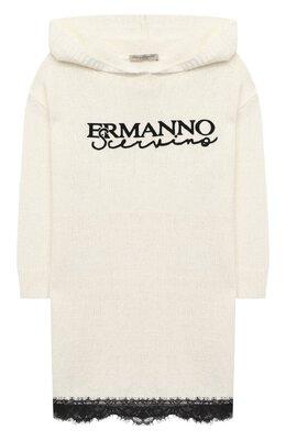 Платье с капюшоном Ermanno Scervino 47I AB05 WAN/10-16