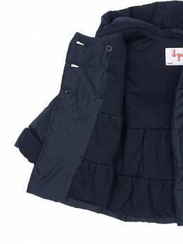 Hooded Nylon Puffer Coat Il Gufo 72I8ZB006-NDk30