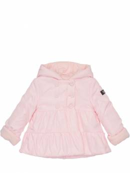 Hooded Nylon Puffer Coat Il Gufo 72I8ZB006-MzEy0