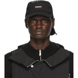 C2H4 Black Two-In-One Durag Cap R002-125