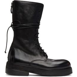 Marsell Black Zuccolona High Boots MM4111